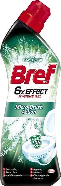 BREF WC 6×EFFECT Micro Brush Action 750 ml