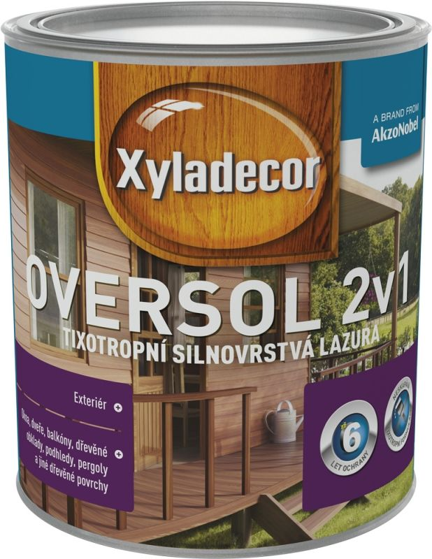 Xyladecor Oversol 2v1 sipo 0,75L