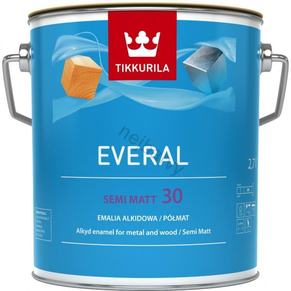 Tikkurila EVERAL SEMI MATT [30] C 9l