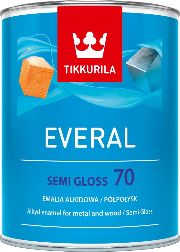 Tikkurila Everal semi gloss [70] 0.9l C