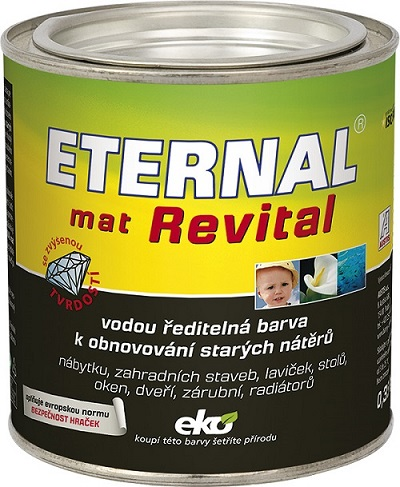 Eternal Revital Mat 202 šedá 0,35kg